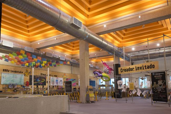 Детский интерактивный музей «Папалоте» в Мехико. Фотография © Jaime Navarro