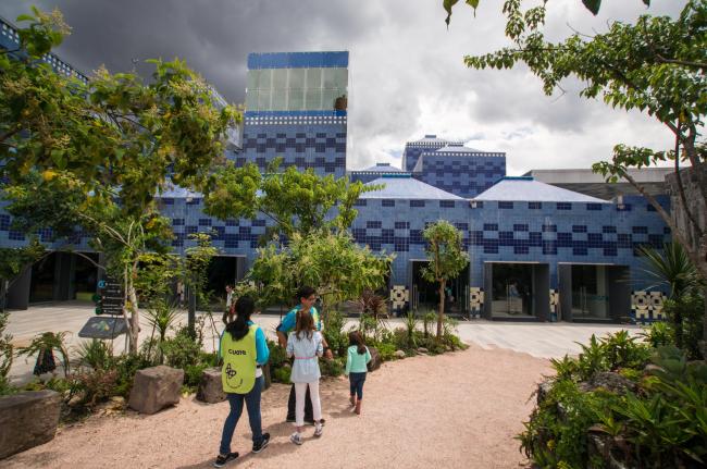 Детский интерактивный музей «Папалоте» в Мехико. Фотография © Maria Dolores Robles Martínez G.