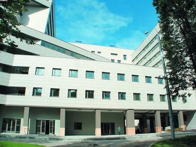 Новый лечебно-диагностический корпус на территории Боткинской больницы © ГУП МНИИП «Моспроект-4»