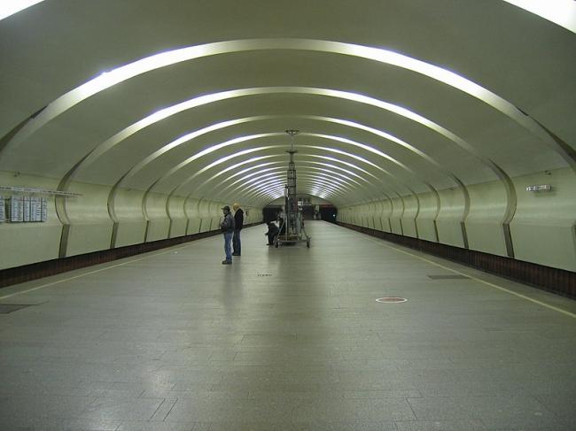 Станция метро «Коньково». Фото: A.Savin via Wikimedia Commons. Лицензия CC BY-SA 3.0