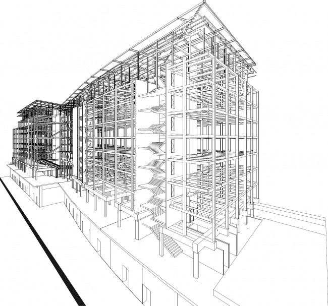Офисное здание Lot 7 © ChartierDalix и Brenac & Gonzalez & Associés