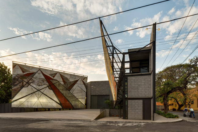 Фрида Эскобедо. Расширение музея-мастерской Давида Сикейроса в Куэрнаваке. Фото: Rafael Gamo