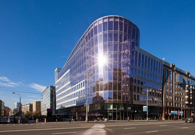 Бизнес-центр «Четыре ветра». Фото: Uezhova via Wikimedia Commons. Лицензия CC BY-SA 4.0
