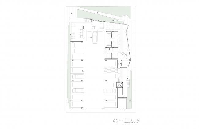 Социальный жилой комплекс The Six © Brooks + Scarpa