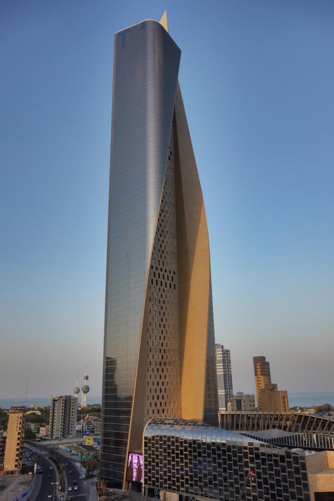Башня «Аль-Хамра». Фото: Rob Faulkner via flickr.com. Лицензия CC BY 2.0