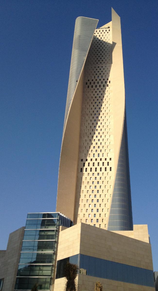 Башня «Аль-Хамра». Фото: Mohdalg via Wikimedia Commons. Лицензия CC-BY-SA-3.0