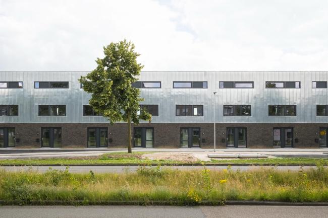 Победа на конкурсе Europan 10: социальный жилой комплекс в Эммене. Авторы проекта – Тимур Шабаев и Марко Галассо