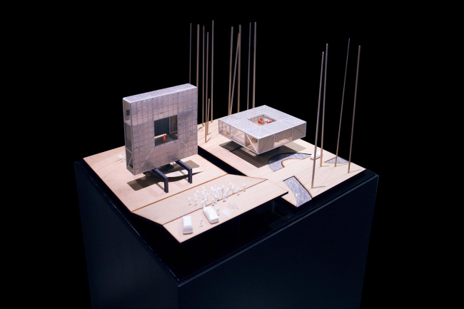 Победа на конкурсе Europan 11: трансформер павильон/вилла Frame в Алмере. Автор проекта – Тимур Шабаев