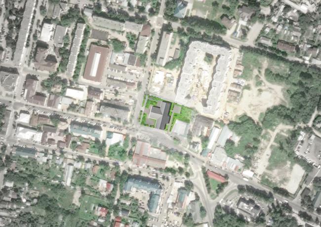 Проект реставрации Звенигородского манежа © Архитектурное бюро «Народный архитектор»