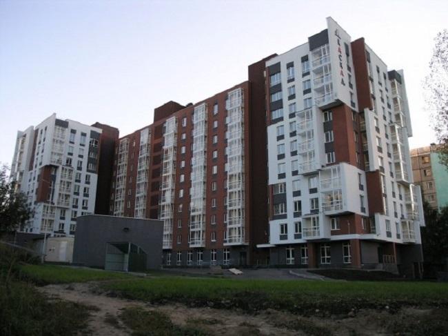 Жилой дом ул. Лопатина © А. Мурунов, С.Кислицын, А.Ерохин, С.Белова