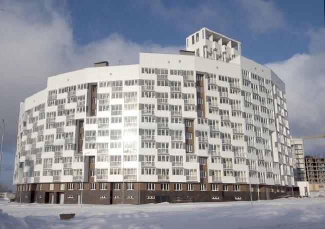 Жилой комплекс «Маршал Град», 1 очередь © Творческая мастерская архитектора Валерия Никишина