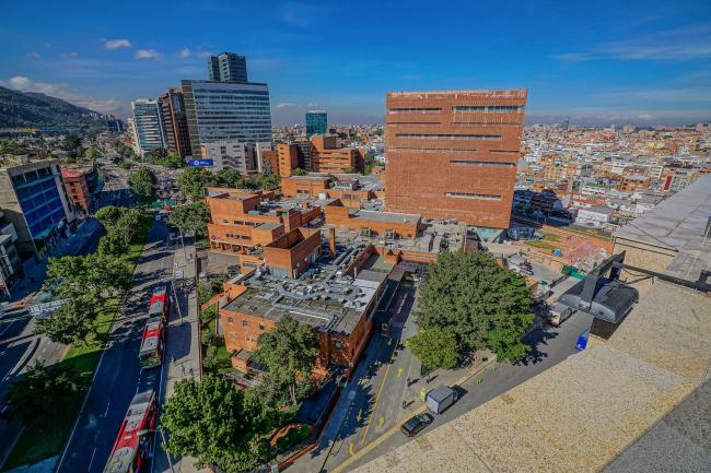 Больница Fundación Santa Fe de Bogotá – расширение © Fundación Santa Fe de Bogotá