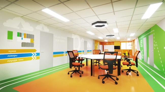Coworking spaces START. Balashikha © PANACOM