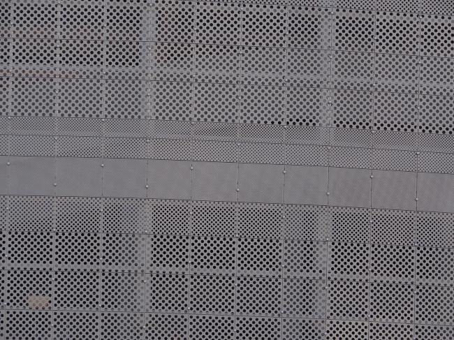 Футбольный стадион «Екатеринбург-Арена». Фрагмент фасада