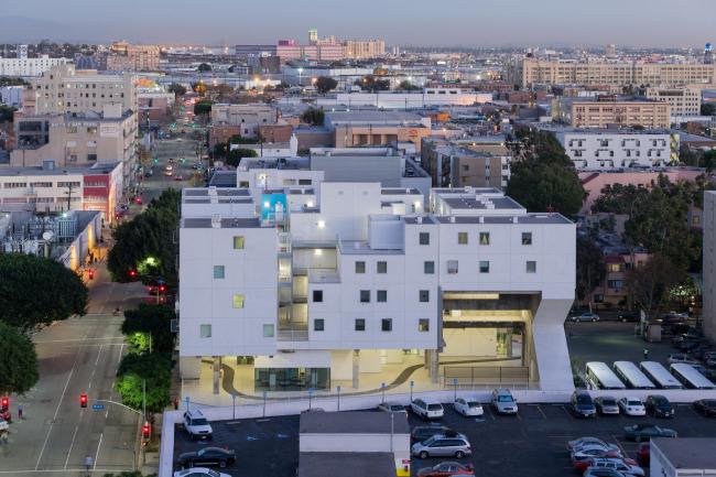 Жилой комплекс Star Apartments. Фото © Iwan Baan. Предоставлено Zumtobel Group Award