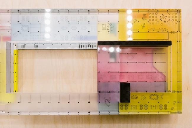 Проект реконструкции Третьяковской галереи на Крымском валу. Макет. Фотография © Анастасия Замятина