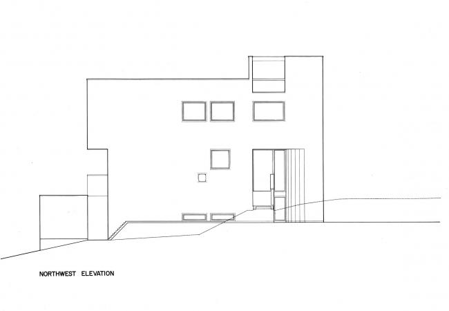 Дом четы Смит. Предоставлено Richard Meier & Partners Architects
