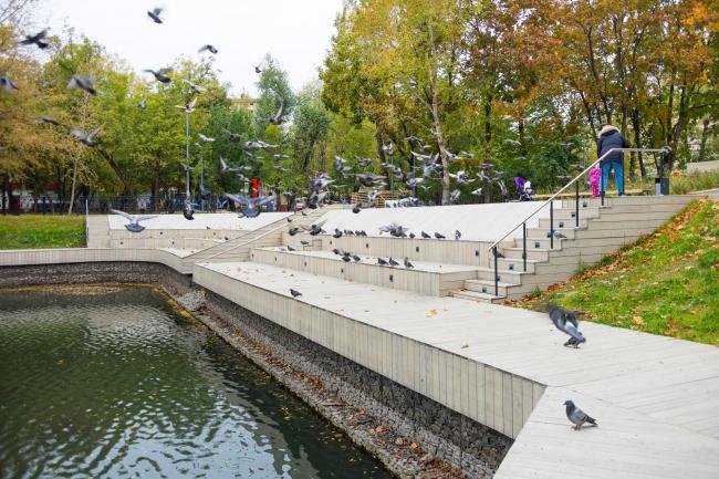 Reorganization of the Krasnogvardeiskie Ponds © WOWHAUS