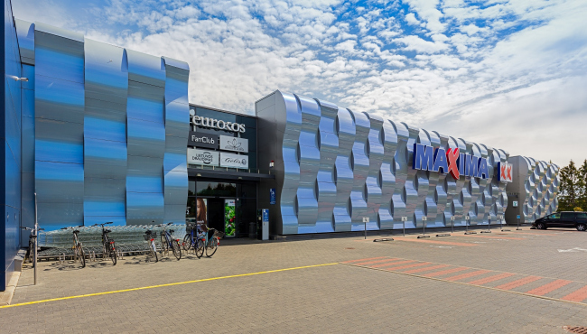 Торговый центр Maxima. Фотография © 3A Composites, City Projects