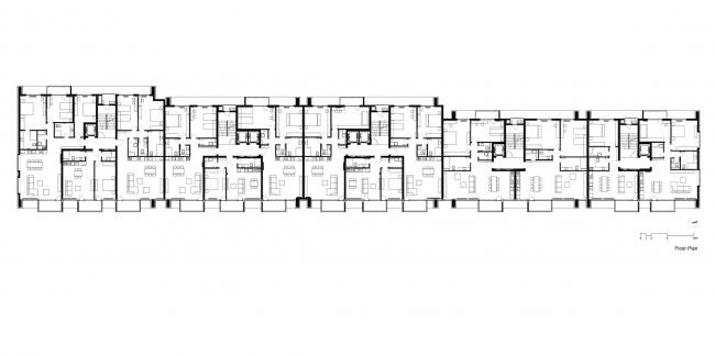 Жилой комплекс A3 © STARH Stanislavov Аrchitects