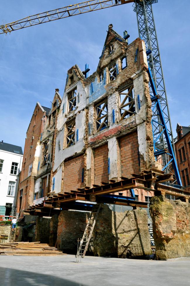 Реконструкция монастыря Лоретт. Процесс строительства © Mick Couwenbergh