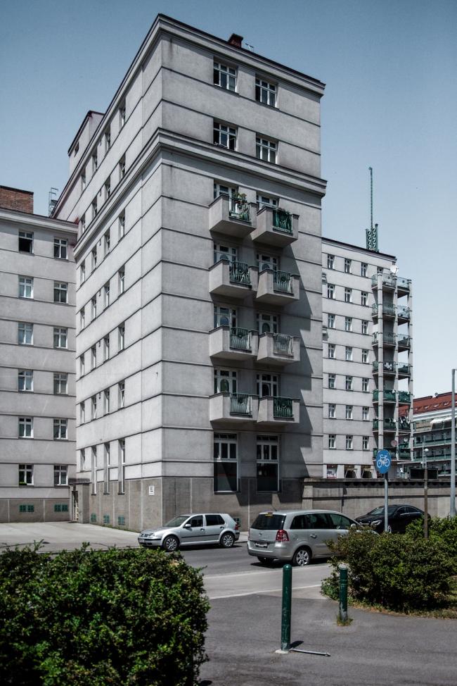 Фридрих-Энгельс-плац-хоф. Фото © Денис Есаков