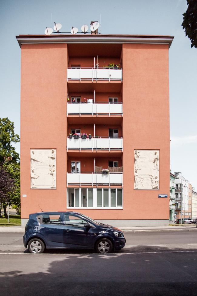 Жилой комплекс на Дюрауэргассе и Либкнехтгассе. Фото © Денис Есаков