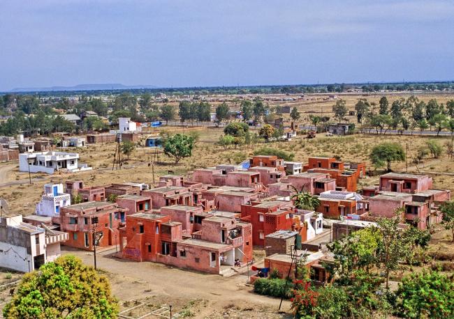 Жилой комплекс «Аранья» для малоимущего населения. Проект Балкришны Доши. Фотография предоставлена VSF