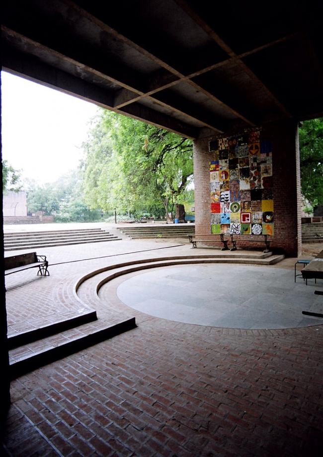 Университет СЕПТ в Ахмадабаде. Проект Балкришны Доши. Фотография предоставлена VSF