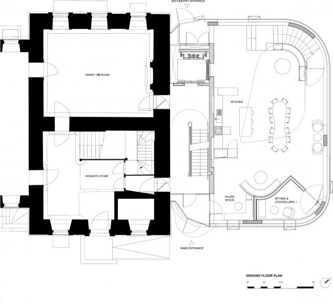 Онкологический центр Мэгги больницы Сент-Бартоломью © Steven Holl Architects