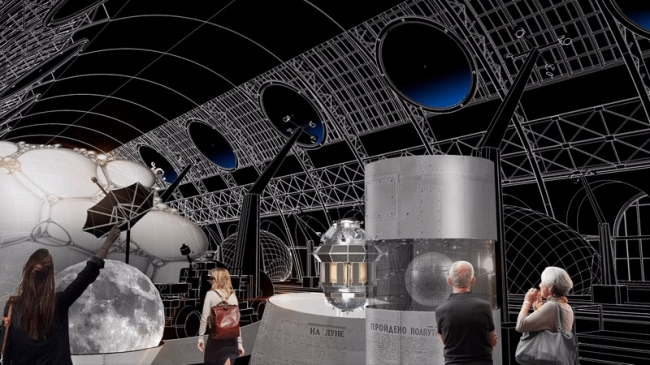 Центр «Космонавтика и Авиация». Иллюминаторы © Архитекторы Асс