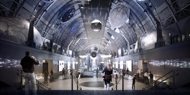 Центр «Космонавтика и Авиация». КБ-1 © Архитекторы Асс