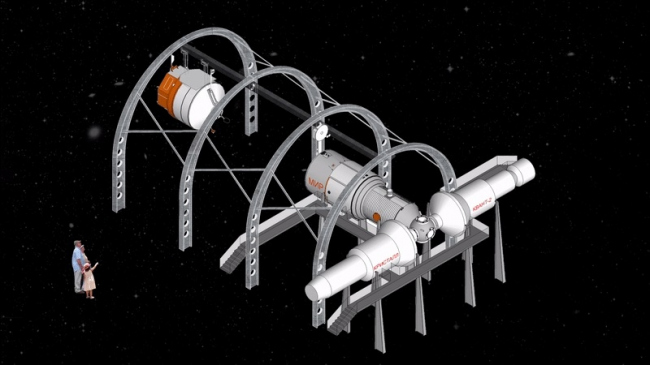 Центр «Космонавтика и Авиация». Стыковка © Архитекторы Асс
