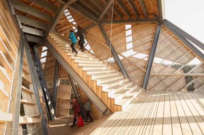 Башня «Помпеюс» в Нидерландах, проект RO&AD Architecten © Katja Effting