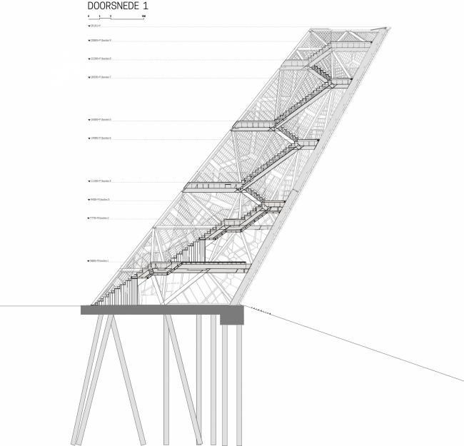 Башня «Помпеюс» в Нидерландах © RO&AD Architecten