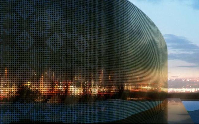 Торговый комплекс на Славянском бульваре © Цимайло, Ляшенко и Партнеры
