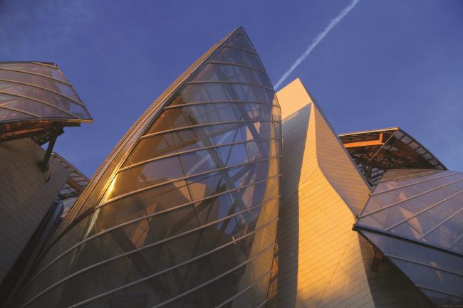 Фонд Луи Виттона в Париже © Ductal®