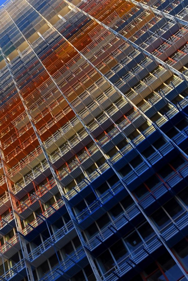 Башня Марсельеза в Марселе. © Ductal®