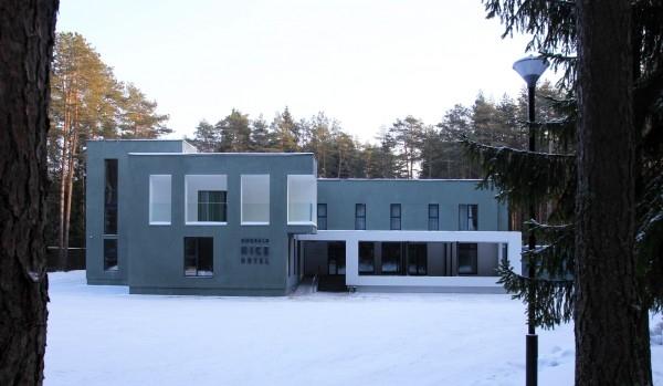 Реконструкция недостроенного корпуса 80-х годов.  Бюро Горшунова IGOR_AI. Фотография предоставлена организаторами Нижегородского рейтинга архитектуры