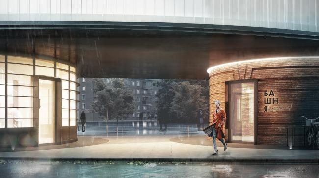 Реконструкция водонапорной башни в Щербинке © IND Architects