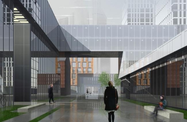 Развитие территории бывшего Бадаевского завода © АБ Остоженка