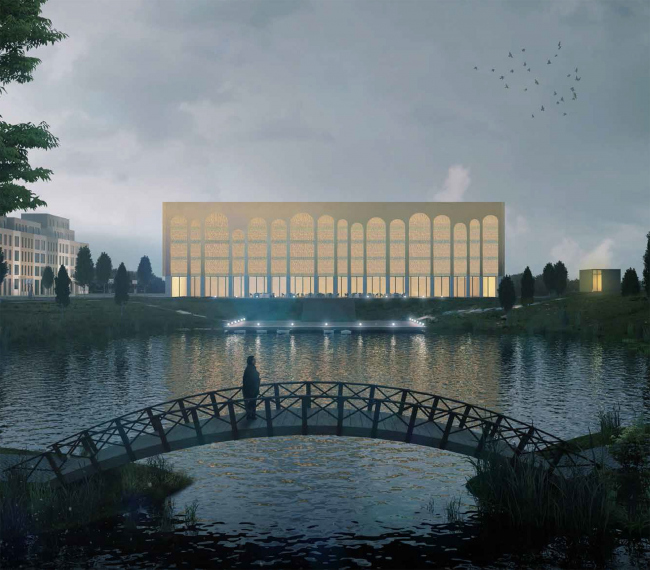 ЖК «Восемь кленов» © Synchrotecture совместно с Agence d′Architecture A. Bechu et Associés