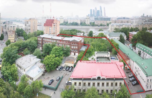 Жилой комплекс Z-House. Вид на участок под застройку © Архитектурная мастерская ATRIUM