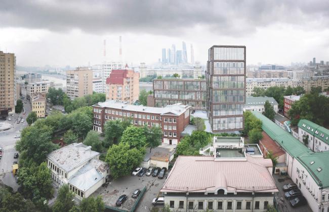 """""""Z-House"""" residential complex. © ATRIUM"""