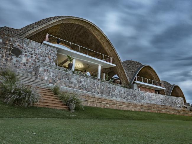 Руандийский крикетный стадион © Light Earth Designs