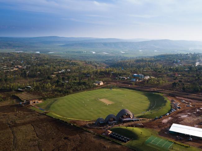 Руандийский крикетный стадион © Paul Broadie