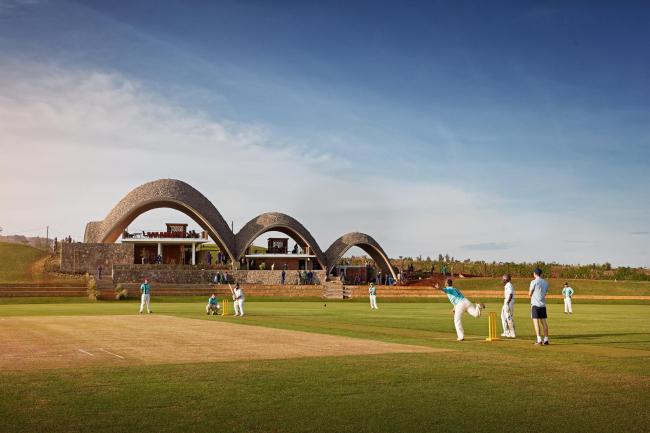 Руандийский крикетный стадион © Johathan Gregson