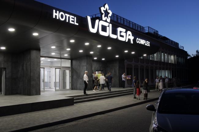 Терраса на крыше отеля «Волга», Кострома. Фотография © Ресторан «VOLGA»; Buzon-Россия