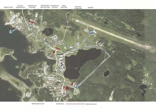 Схема развития Соловецкого музея-заповедника. © АБ «Рождественка»