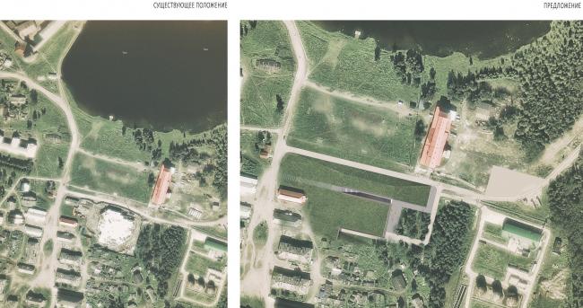 Генеральный план. Существующее положение vs проектное предложение / Предложение © АБ «Рождественка»